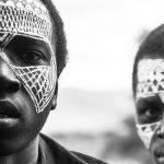 Maasai jongens