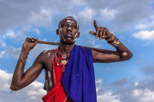 Maasai krijgsman